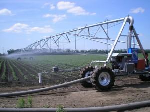 Насосная станция водоснабжения для полива полей