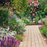 Приводим в порядок садовые тропинки