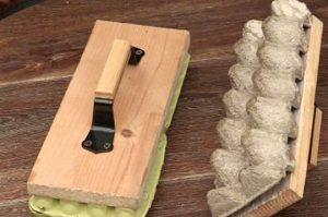 Маркер для посадки семян из яичного лотка