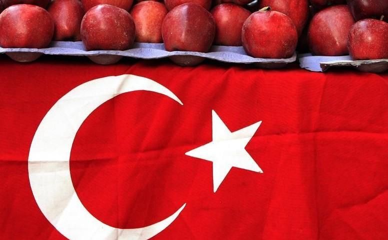 запрещенные к продаже турецкие фрукты и овощи.