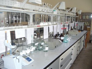 Анализ почв в лаборатории