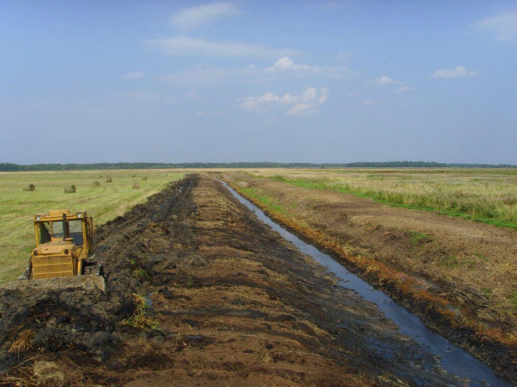 Комплекс организационно-хозяйственных и технических мероприятий по улучшению гидрологических, почвенных и агроклиматических условий