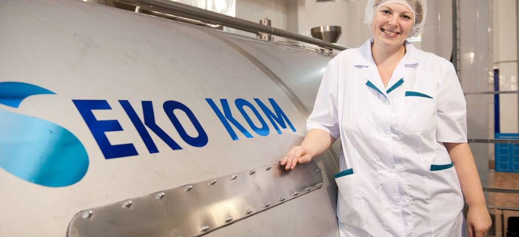 Гости побывали на молочном заводе «МилкОм»
