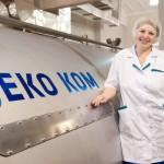 Делегация из соседнего Казахстана угощалась молоком в Омске