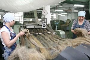 Лен и хлопок в текстильной промышленности