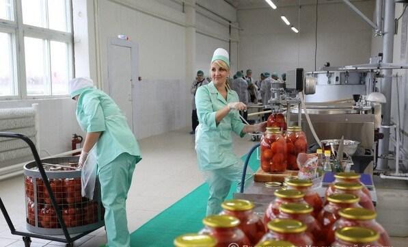 В Ульяновской области открыи консервный цех