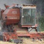 После сильных дождей в Амурской области возобновились уборочные работы