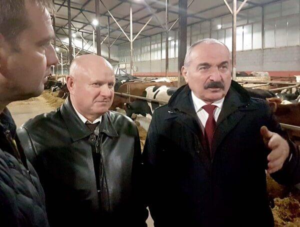 стичный чиновник аграного ведомства посетил Омскую область