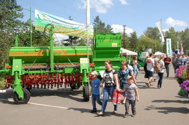 В Омске открылась Сибирская агротехничесская выставка -2016