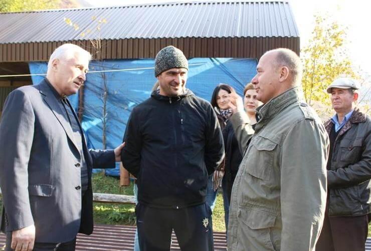 Жизнь в селах Южной Осетии налаживается