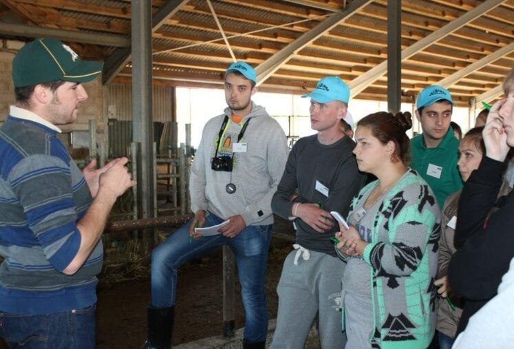Академия животноводства проовдит стажировки студентов