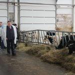 Евгений Астафьев побывал на строительстве животноводческого комплекса в селе Порздни Лухского района Ивановской области