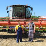 В Амурской области учащиеся аграрного колледжа завершают уборочную страду