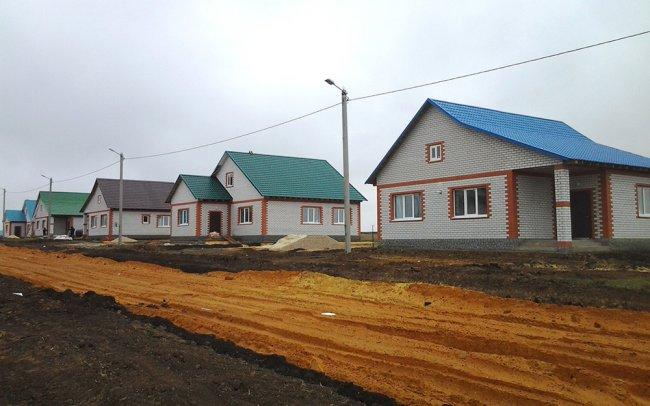 В Рязанской области строят дома для сельчан