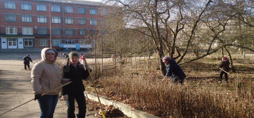 сельскохозяйсвтенный техникум в Ленинградской области капитально ремонтируют
