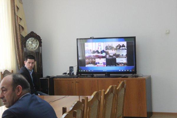 Видеоконференция минсельхоза с регионами России