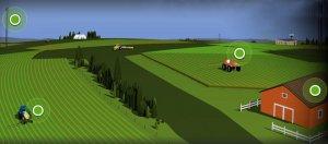 Принцип работы системы точного земледелия