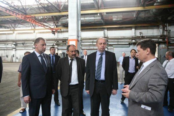 Ставропольская делегация в Белорусской республике