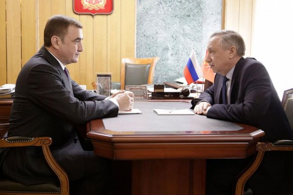 рабочая встреча полпреда ЦФО ит губернатора Тульской области