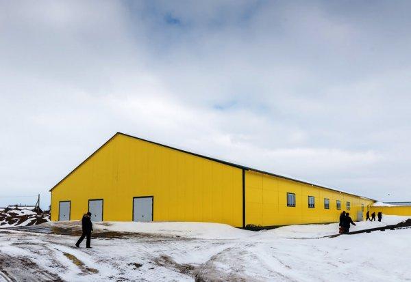 В Коткино ЯНО завершается строительстов новой фермы