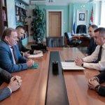 Рабочий визит Е. Громыко в Приморский край