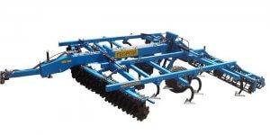 Агрегат для вертикальной обработки почвы