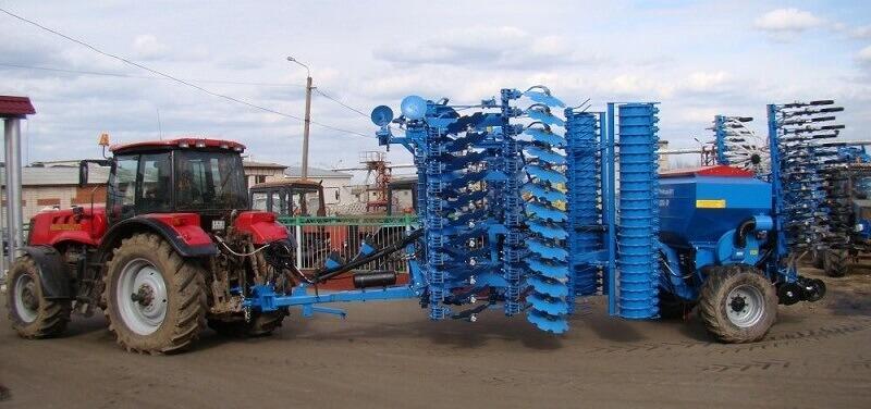 Комбинированные почвообрабатывающие агрегаты