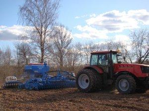 Агрегат комбинированный почвообрабатывающий посевной