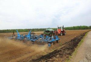 Посев зернобобовых культур