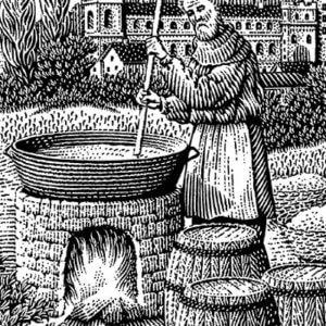 Приготовление хмельных напитков на руси