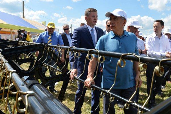 В Менделеевском районе Татарстанапланируют создать агропромпарк