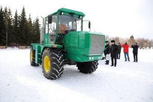 В курганской области создали новый трактор