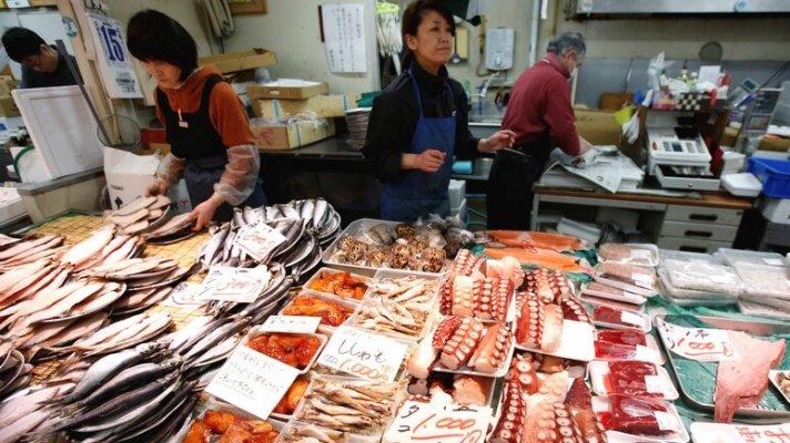 Росси яразрешила импорт морепродуктов из Японии.