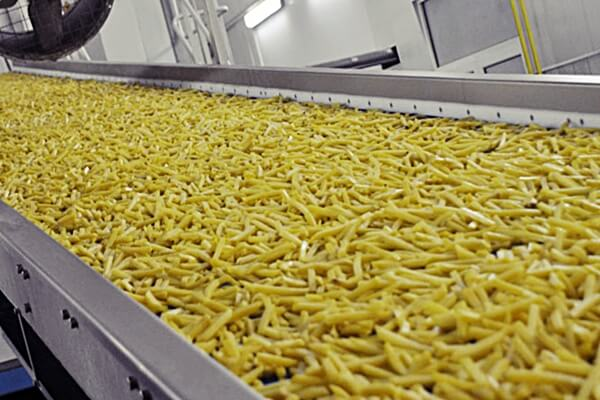 В Тюменской строится завод по переработке картофеля