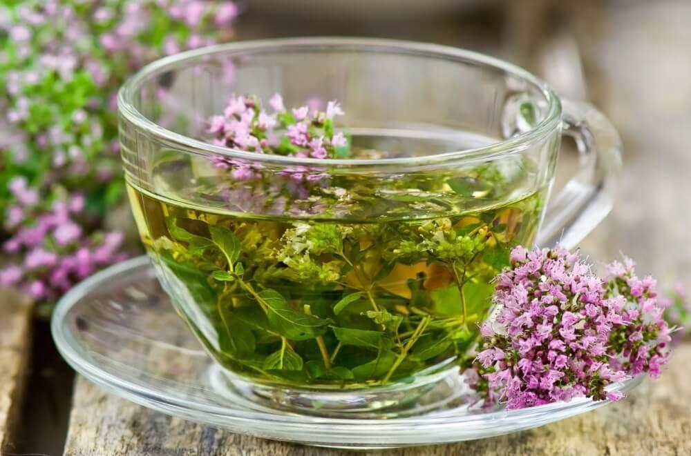 Чай травяной с валерианой и душицей