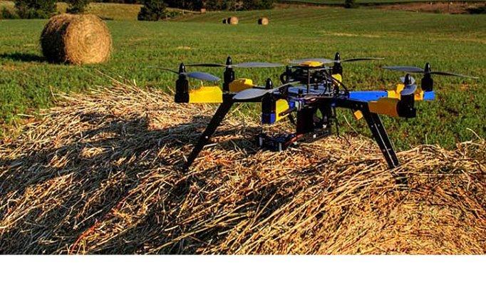 В Мордовии активно используют дроны