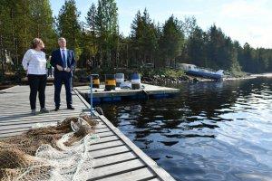 Рыборазхводные хозяйства смогут строить на прибрежных территориях объекты инфраструктуры