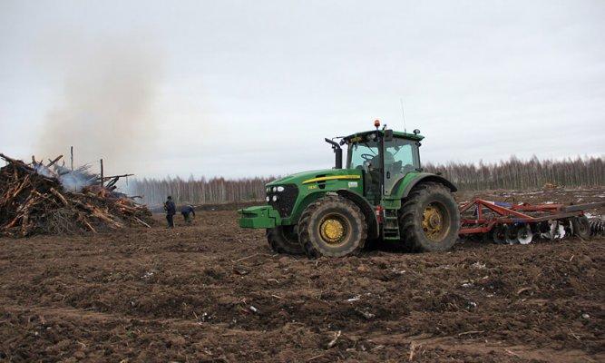 В Смоленской области АПХ «ПРОМАГРО», осваивает пустующие земли
