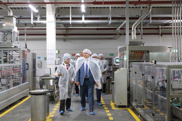 В Липецкой области начал работать завод дрожжей, построенный китайской компанией