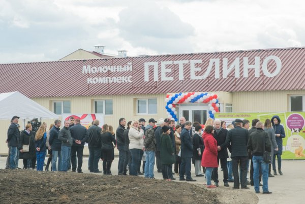 В селе ПЕелино открылась новая молочно-товарная ферма