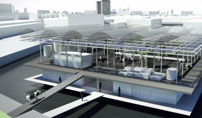 В Роттердаме появилась первая в мире плавучая ферма