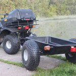 Студент из Красноярского аграрного университета  разработал новую модель прицепа к мотовездеходам