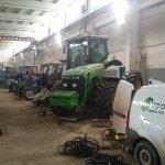 В Воронежской области восстанавливают станции техобслуживания и ремонта сельхозтехники