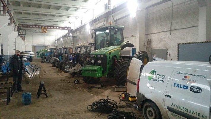 В Воронежской области начала действовать станция по ремонту и обслуживанию сельскохозяйственной техники