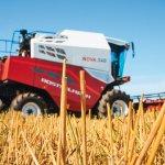 Российский комбайн последнего поколения F 2650 высоко оценили немецкие аграрии