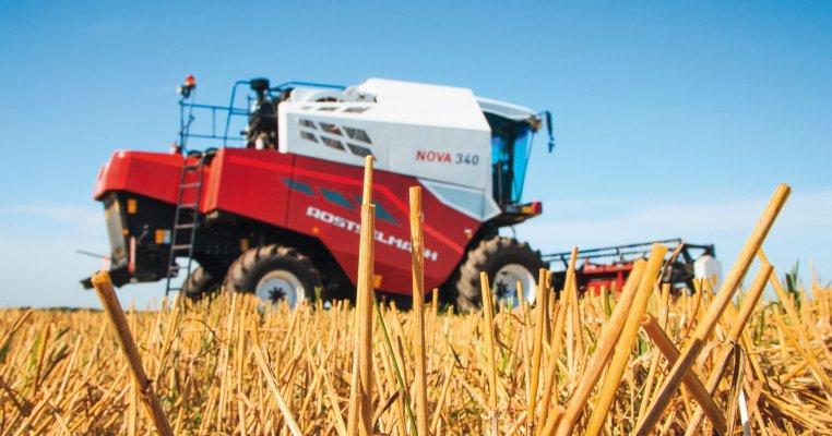 Российский кормоуборочный комбайн вошел в тройку лидеров на немецкой выставке сельхозмашин