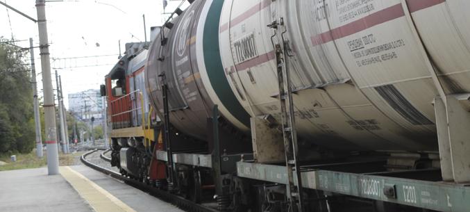 100 контейнеров с растительным маслм отправились из Пензы в Китай