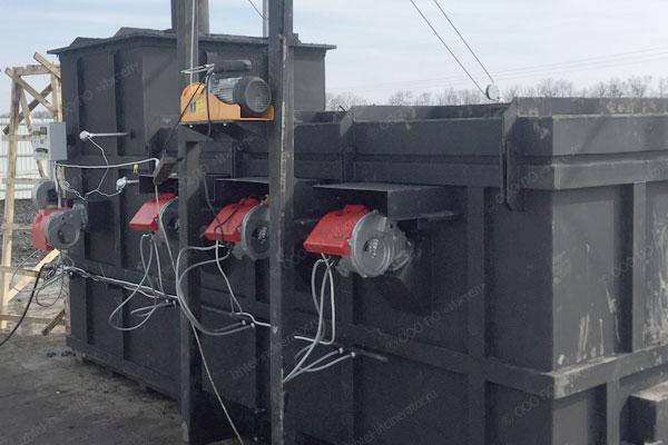 Башкирский фермер для утилизхации отходов использует инсинератор