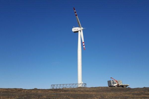 В Тамбовской области построили первый в Черноземье ветряк